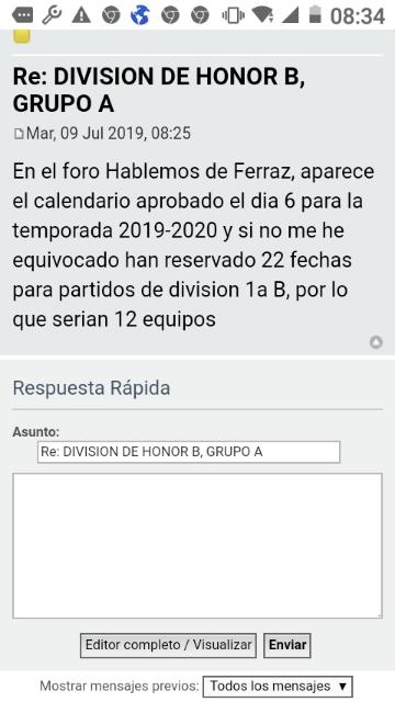 Calendario Liga Nos 2020.Liga Division Honor 2019 2020 Pagina 6 Foro Rugby El